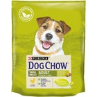 Сухой корм DOG CHOW для собак мелких пород, курица, 800 г