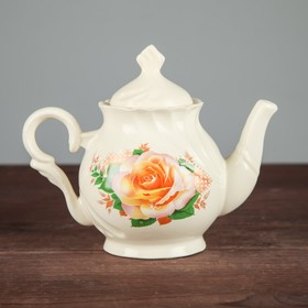 Чайник заварочный 'Арфей', 0,5 л, голубые цветы Ош