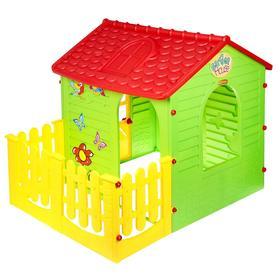 Детский игровой комплекс «Домик с забором»