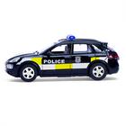 Машина металлическая «Полицейский джип», инерционная, свет и звук, масштаб 1:43 - фото 105654584