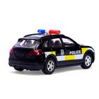Машина металлическая «Полицейский джип», инерционная, свет и звук, масштаб 1:43 - фото 105654585