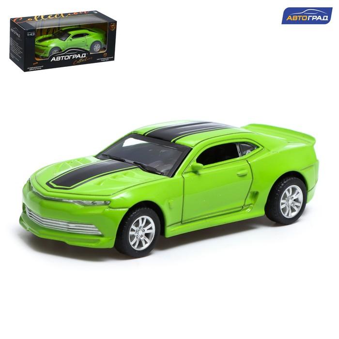 Машина металлическая «Гонка», инерционная, масштаб 1:43, цвета МИКС