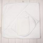 Набор для купания (3 предмета), цвет белый 3011