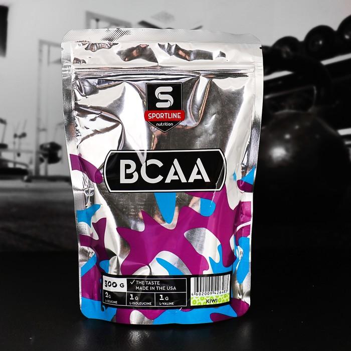 Аминокислоты SportLine BCAA 2:1:1, киви, 300 г