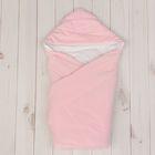 Конверт-одеяло с вышивкой, размер 90*90 см, цвет розовый 2157 Роз