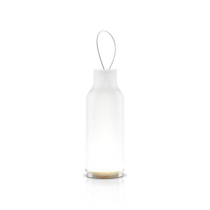 Подсвечник подвесной 20 см, прозрачное стекло