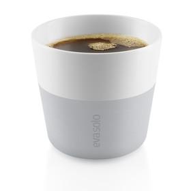 Чашки для лунго 2 шт 230 мл серые