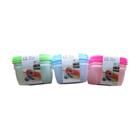 Набор пластиковых контейнеров Irit, 3 штуки, 1,2 л