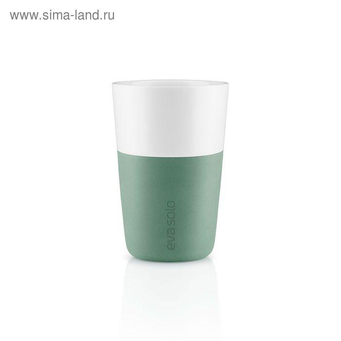Чашки для латте, 2 шт., 360 мл, лунно-зеленый