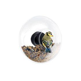 Кормушка для птиц стеклянная, 14,3 см