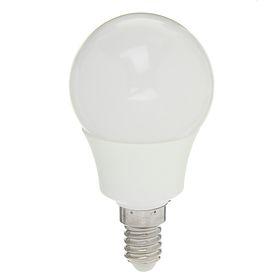 """Лампа светодиодная AL радиатор """"Luazon"""" LED, Е14-5W-4200К-SMD2835-400Lm-270deg-180-265V"""