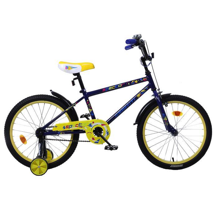"Велосипед 20"" GRAFFITI Spector, 2017, цвет синий"