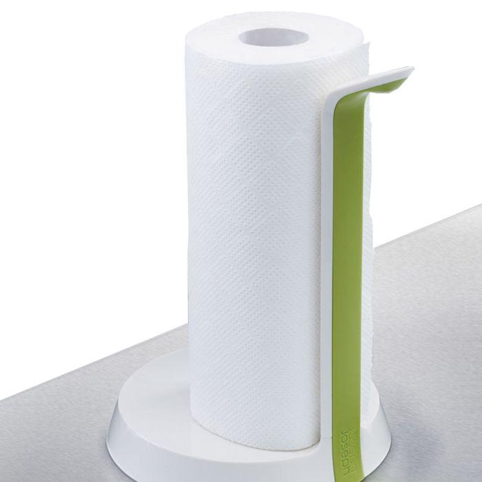 Держатель для бумажных полотенец Joseph Joseph Easy Tear, бело-зелёный