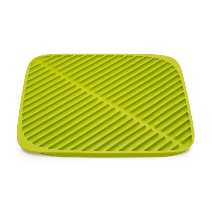 Коврик для сушки посуды Joseph Joseph Flume, малый, зелёный