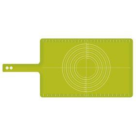 Коврик для теста с мерными делениями Joseph Joseph Roll-up, зелёный