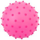 Ball massage, matte plastisol d=8 cm, 15 g, MIX color