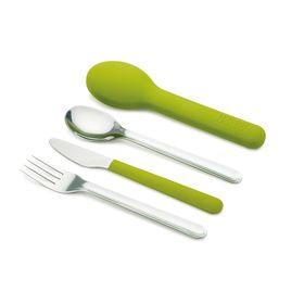 Набор столовых приборов Joseph Joseph GoEat Cutlery Set, 4 предмета, зелёный