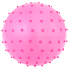 Ball massage, matte plastisol, d=14 cm, 30 g, MIX