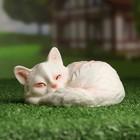 """Садовая фигура """"Кошка спящая"""" 12*14*8 см"""