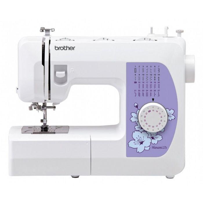 Швейная машина Brother Hanami-27S, 27 операций, обметочная, потайная, эластичная строчка