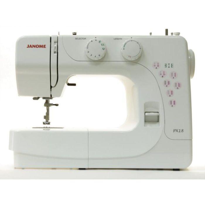 Швейная машина Janome PX-14, 14 операций, потайная, эластичная строчка