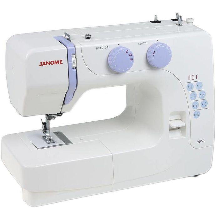 Швейная машина Janome VS 50, 15 операций, потайная, эластичная строчка