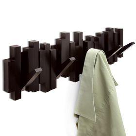 Вешалка настенная Sticks, эспрессо