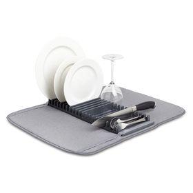Коврик для сушки посуды Udry, тёмно-серый