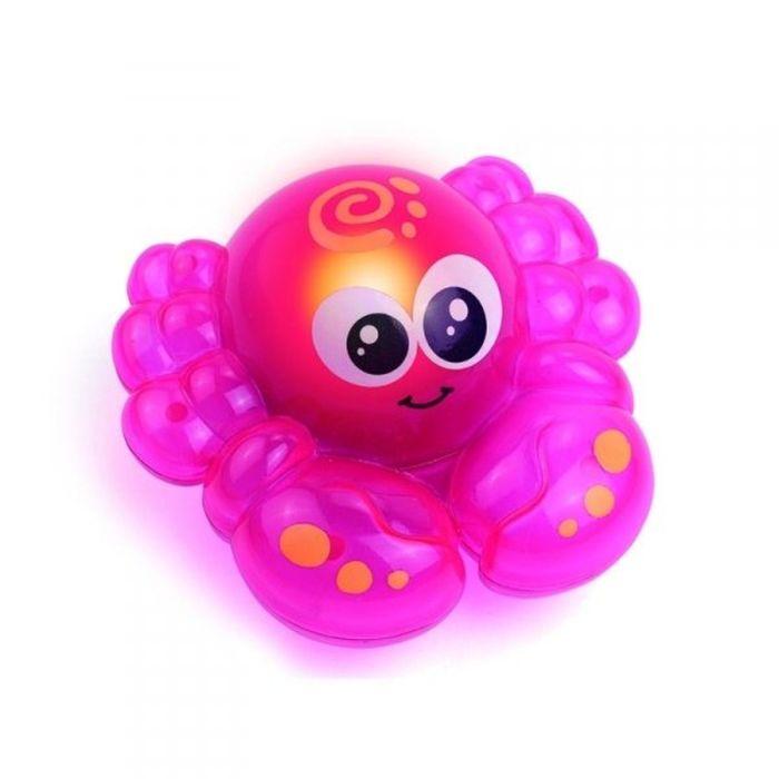 Игрушка для ванной «Крабик», со световыми эффектами