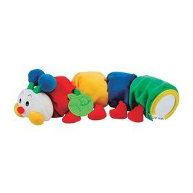 Развивающая мягкая игрушка «Гусеничка с прорезывателем»