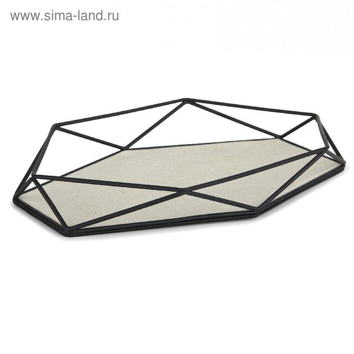 Органайзер-поднос для украшений PRISMA, чёрный