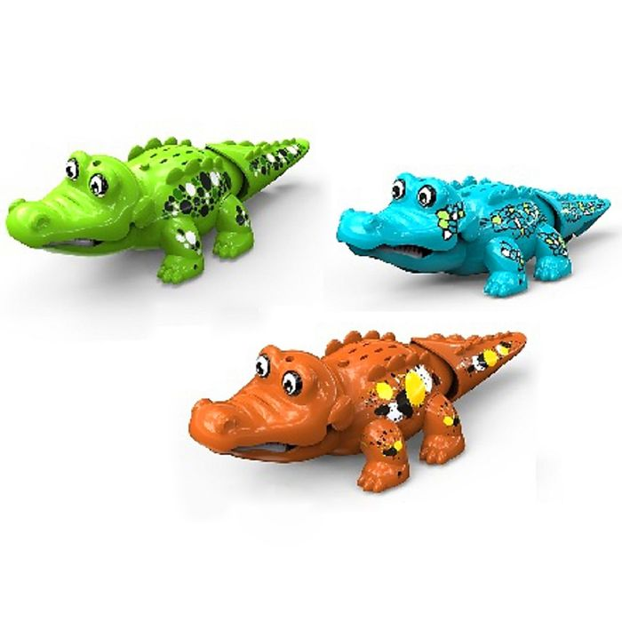 "Аква-игрушка ""Крокодильчик"", цвета МИКС"