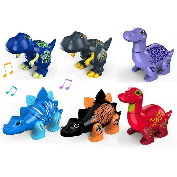 Динозавр с кольцом DigiBirds, цвета МИКС