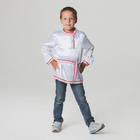 Russian folk shirt for boy, size 58, height 98-104 cm