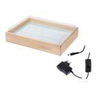 Стол-планшет для аква-анимации 35х50 см (подсветка белая)