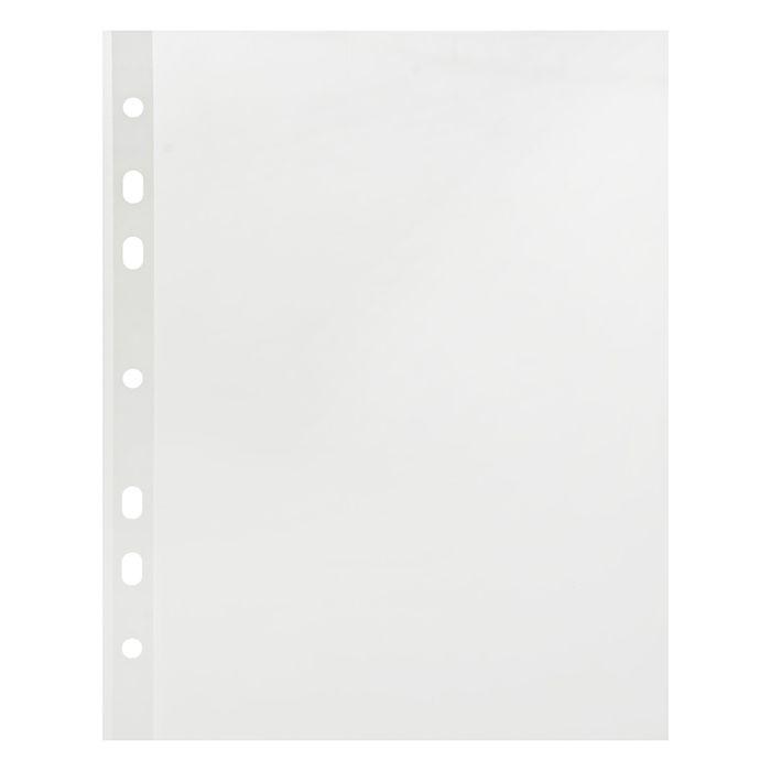 """Файл-вкладыш А5, 30мкм вертикальный, фактура """"гладь"""" 100 штук"""