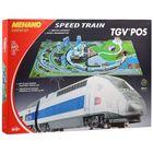 Железная дорога TGV POS с ландшафтом, протяжённость пути 5 м
