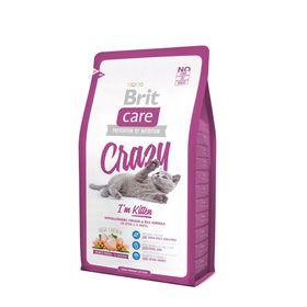 Сухой корм Brit Care Cat Crazy Kitten для беременных, кормящих кошек и котят, 7 кг