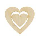 Заготова сердце в сердце 5х5 см