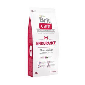Сухой корм Brit Care Dog Endurance для активных собак, утка/рис, 12 кг.