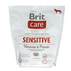 Сухой корм Brit Care Dog Venison для собак, оленина, 1 кг.