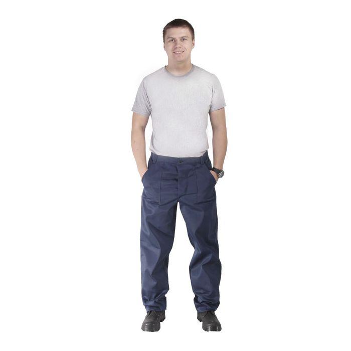 Брюки рабочие, размер 52-54, рост 182-188 см
