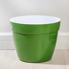 """Горшок 15 л """"Асти"""", цвет зелёный"""