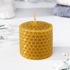 Свеча из вощины медовая 4 см