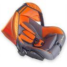Серый/оранжевый