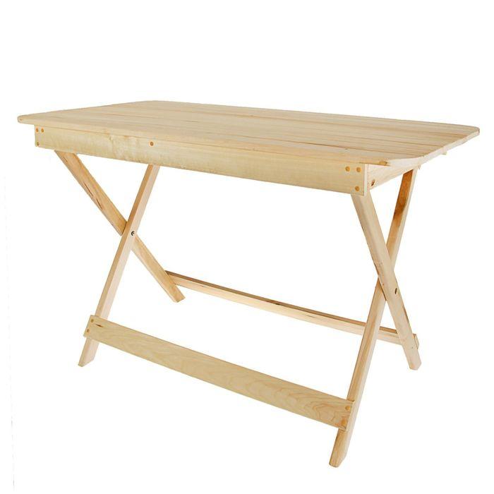 Стол раскладной прямоугольный 120 х 60 х 75 см ПРОМО