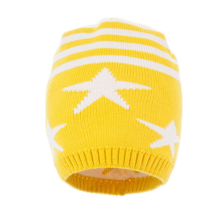 Шапка для девочки, размер 52-54, цвет жёлтый C-860