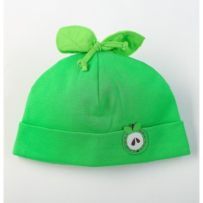 """Шапка детская """"Фрутис"""", размер 40-42, цвет зелёный P-183-01 _М"""