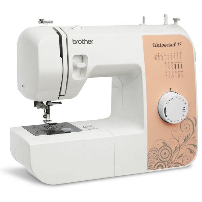 Швейная машина Brother Universal 17, 17 операций, обметочная, потайная, эластичная строчка