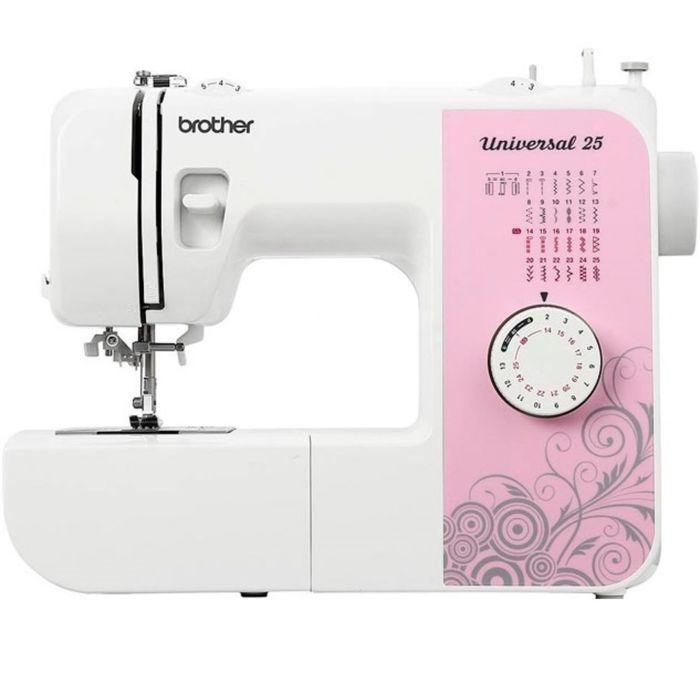 Швейная машина Brother Universal 25, 25 операций, обметочная, потайная, эластичная строчка